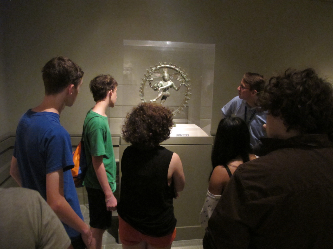 Pioneer Teens 2015 at the Rubin Museum.